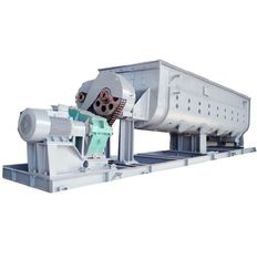China Rotary Drying Hollow Paddle Dryer for Fresh Sludge Food Processing Support supplier
