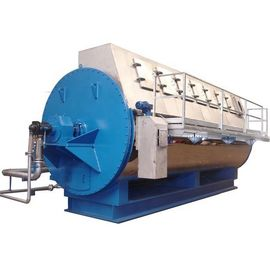 China Longlife Animal Rendering Rotary Drying Equipment Horizontal Coil Dryer With Jacket supplier