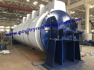 Tube Coiler Blood Dryer Animal Rendering Machine , Poultry Slaughter Equipment