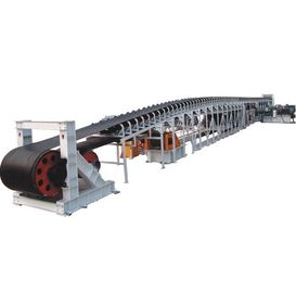 China Long Belt Conveyor For Airport Baggage Transfer Material Continuously factory