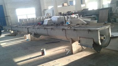 Industries Customized Conveyor System Stainless Steel Screw Conveyor With Shaft