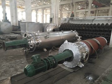 SGS Scraper Falling Film Evaporator / Wiped Film Evaporator For All Industries