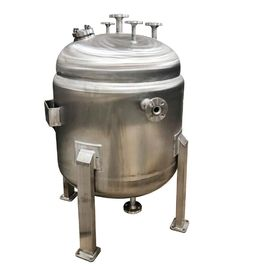China Vertical Reaction Kettle CBD Oil Reactor With ASME Certificate And U Stamp factory