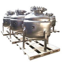 China High - Efficiency Butane Gas Tank Reaction Kettle Of Full Stainless Steel factory